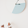 DIY: colour block clock