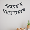 DIY: letterslinger van papier