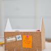 DIY: prikbord huisje
