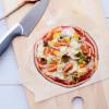 Heerlijke vegetarische wrap pizza