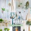 Liefde voor ... macramé plantenhangers!