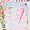 Freebie: mijn vakantie bucket list