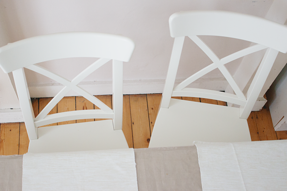 Ikea Witte Stoel : Eetkamerstoelen: voor en na the life factory