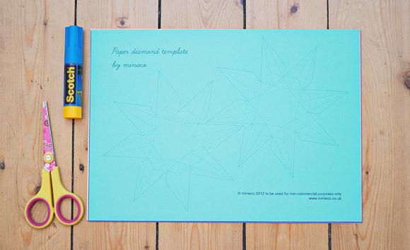 DIY diamanten van papier (1 van 11)