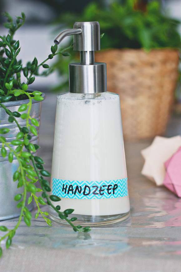 DIY handzeep (uit een blok zeep)