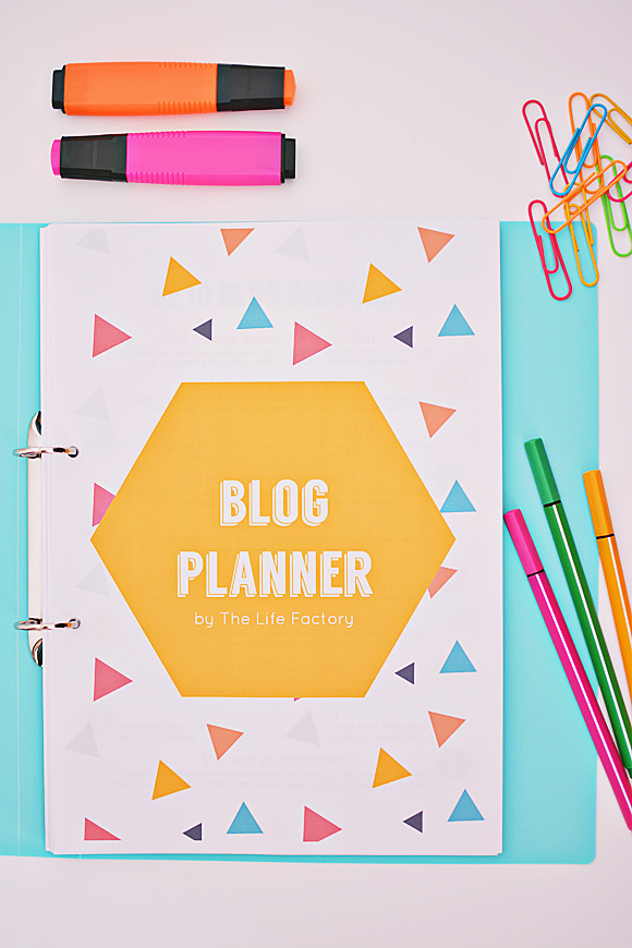 Blog Planner Kit by The Life Factory
