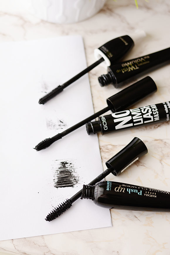 De mascara battle: 2x Bourjois & Gosh