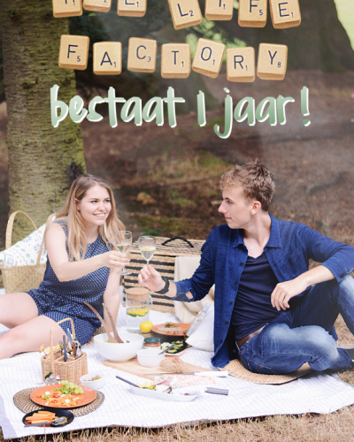 The Life Factory is jarig! (+ win!)