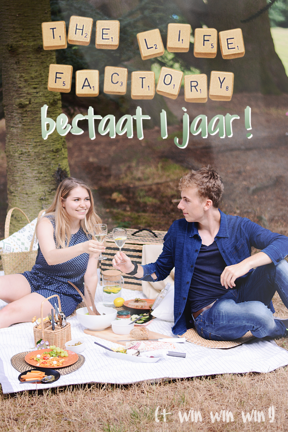 The Life Factory bestaat 1 jaar