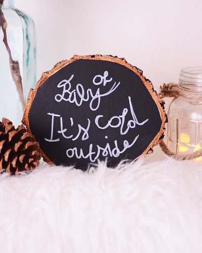 Oh baby, it's cold outside