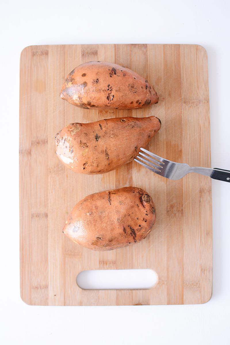 De lekkerste gevulde zoete aardappel OOIT!