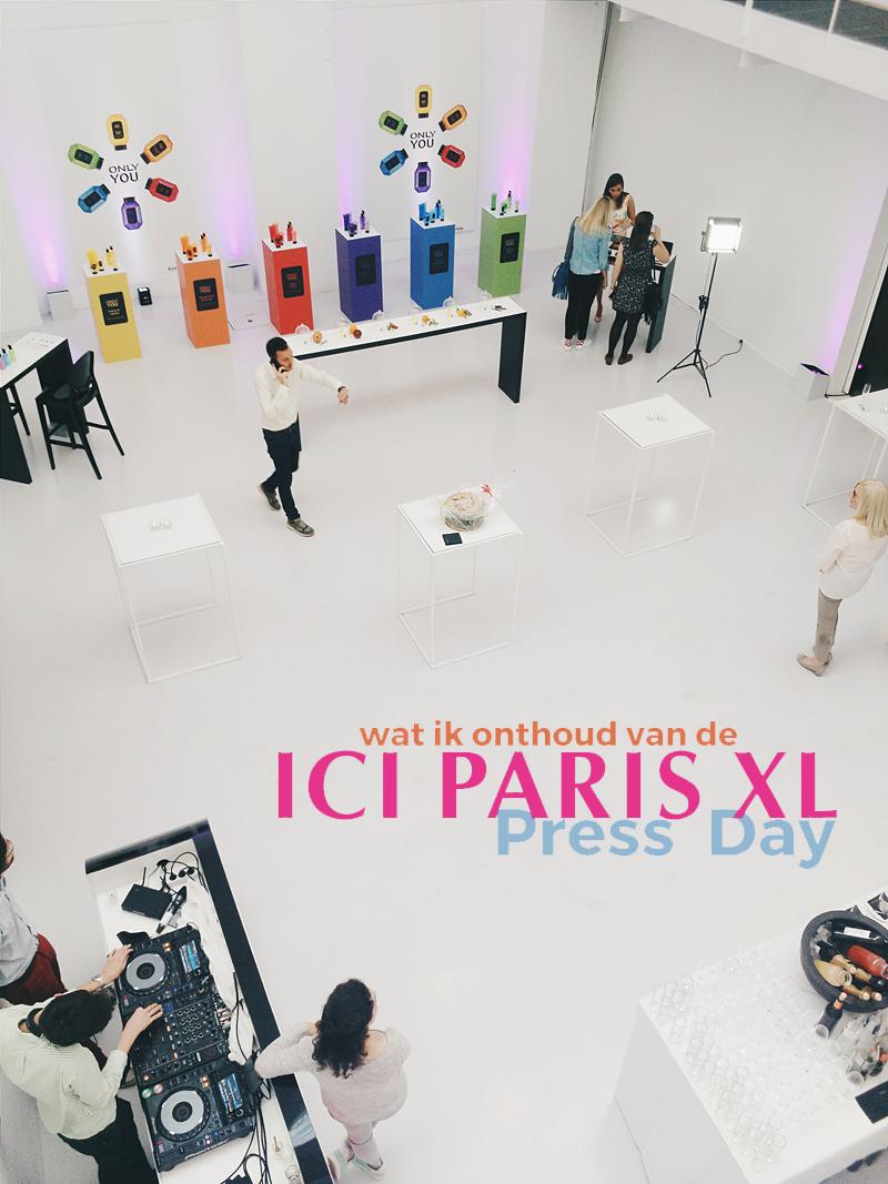 Wat ik onthouden heb van de ICI Paris XL Press Day