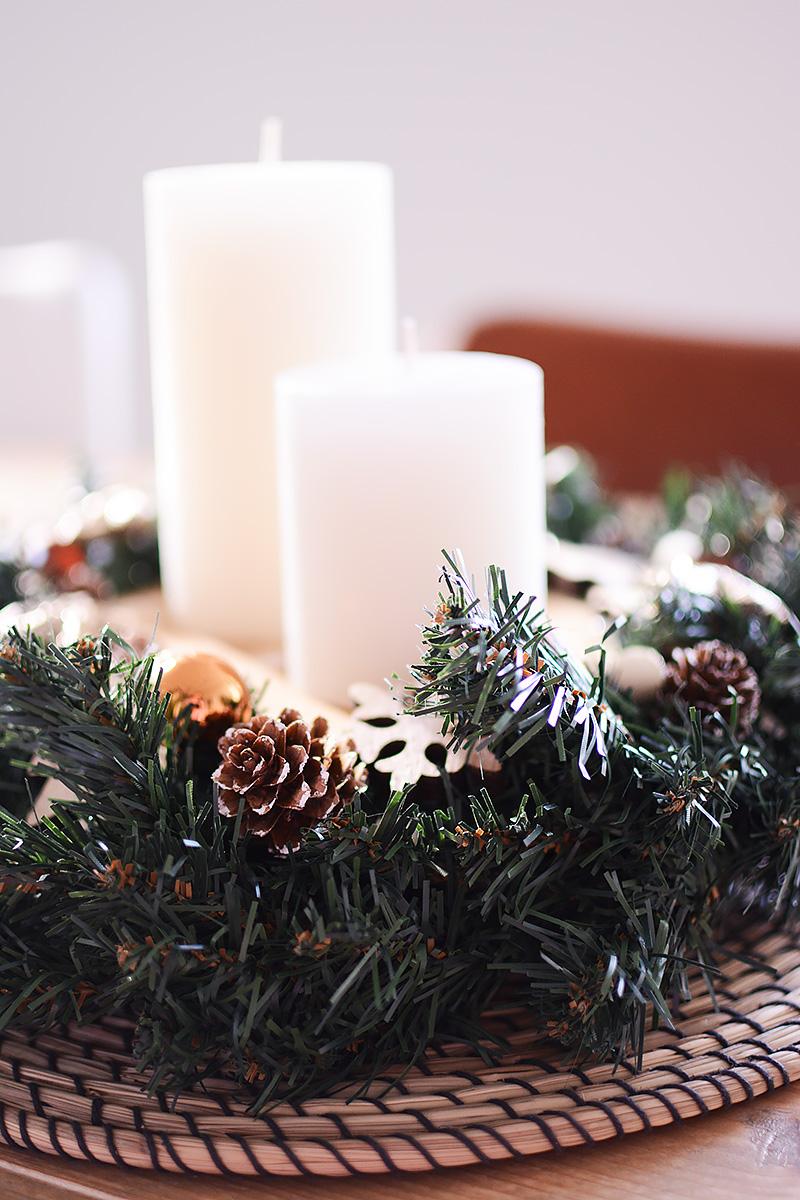 Winter in huis! Zo maak je een mooi kerststuk