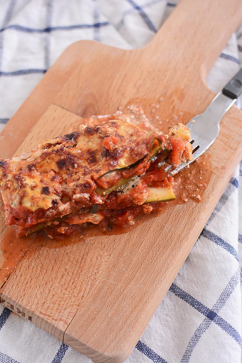 Lasagne zonder schuldgevoel