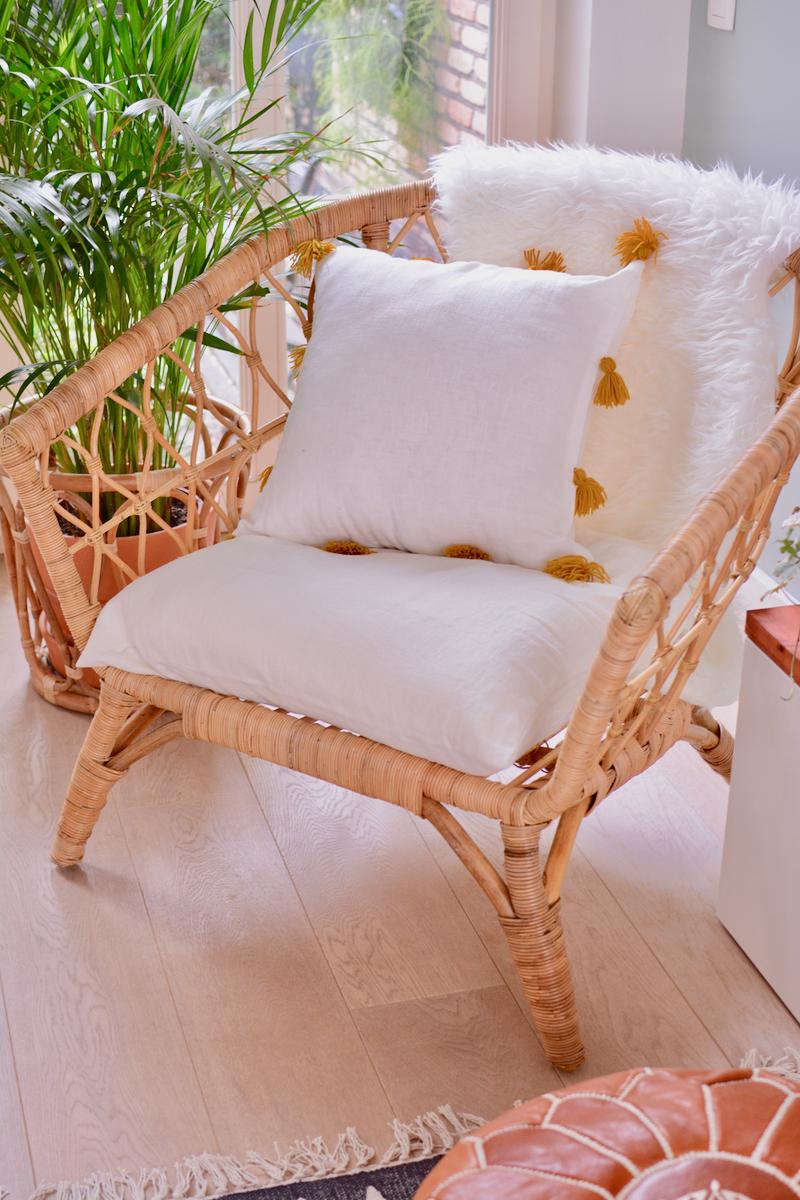 Woonkamer make-over #2: een nieuwe fauteuil!