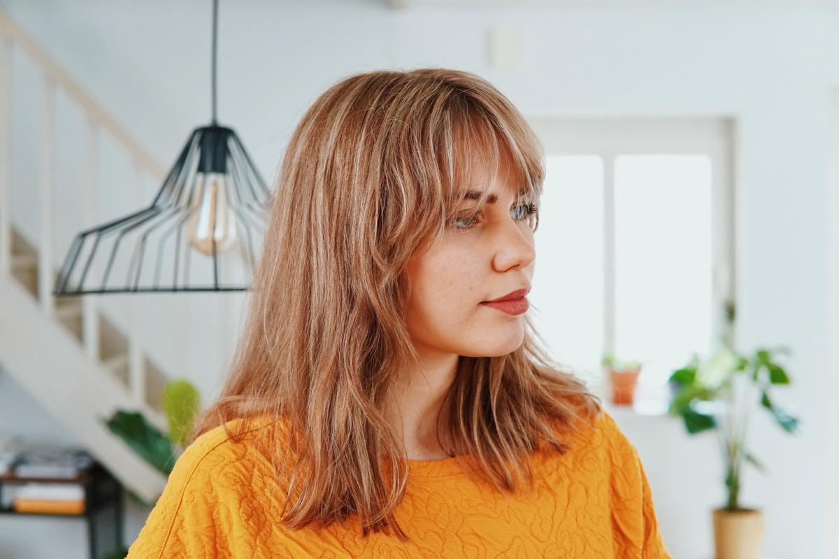 Happy new hair! De 'Bardot fringe'
